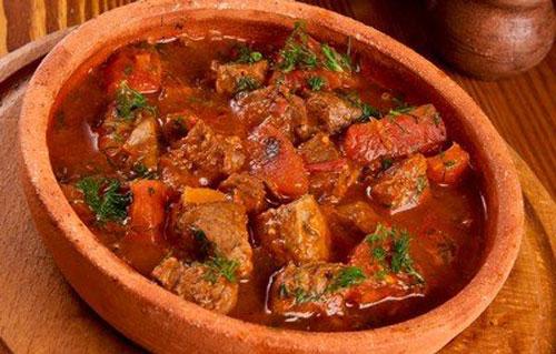 Солянка по-грузински пошаговый рецепт